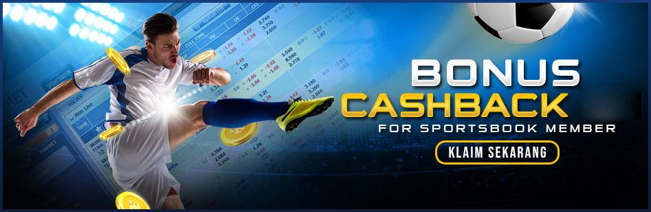 Bonus Cashback Besar Dari Permainan Judi Bola Online