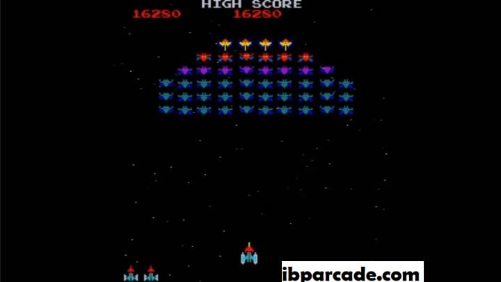 Review Permainan Arcade Galaga, Permainan Arcade Yang Bertema Galaxian