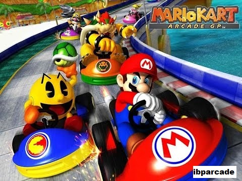Macam Macam Permainan Arkade Yang Ada Di Mario Kart Arcade GP